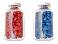 Red And Blue Pill Concept