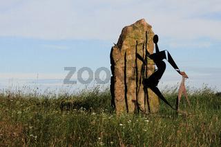 Skulptur am Kunstweg