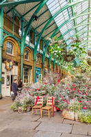 A typical view in Covent Garden