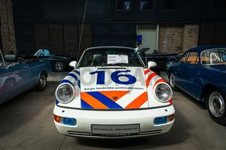 Police car Porsche 964 C2 Cabriolet, 1993.