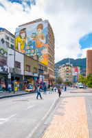 Bogota city Jimenez of Quesada avenue