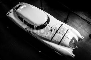Race car Adler Trumpf Rennlimousine, 1937.
