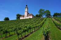 monastery church Birnau at lake constance, Germany