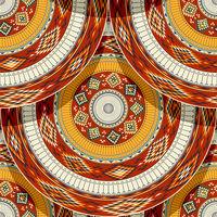 Native american indian tile