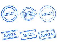 April Stempel - April stamps