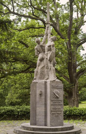 War Memorial in the Coburg Court Garden