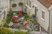 Old Town Garden, Stavanger, Norway