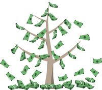 Money grows on tree.