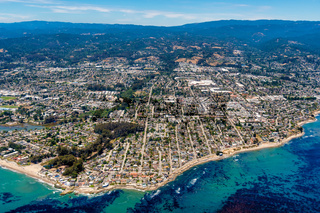 Santa Cruz California Aerial View
