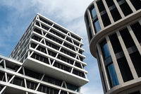 Berlin, Germany, View of the headquarters of 50Hertz along Heidestrasse in the Europacity