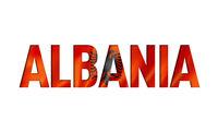albanian flag text font