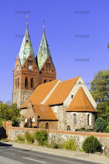 Church Willmersdorf near Werneuchen, Brandenburg, Germany
