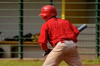 Batter at a baseball field