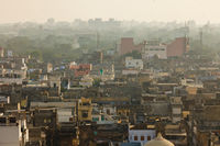 Top view of the old city of Jaipur