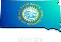 Map South Dakota