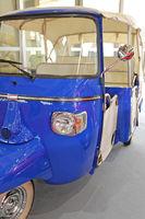 Blue Auto Rickshaw