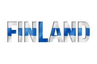 finnish flag text font