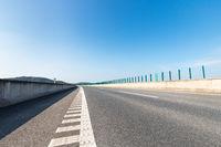 expressway and asphalt road surface