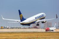 Ryanair Boeing B737-800 airplane Alicante airport