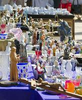 flea market at the city of Tulln