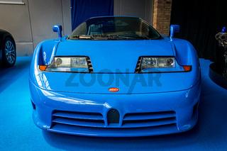A sports car Bugatti EB 110 GT