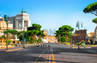 Vittoriano Palace in Rome