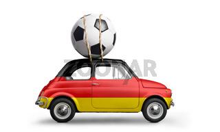 Germany football car