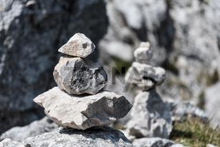 Stones on Kampenwand