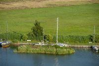 Naturhafen am Verbindungskanal Baaber Bek in Baabe-Moritzdorf