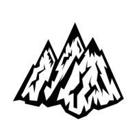 Concept of Travel, Discovery, Hiking, Adventure Tourism and Exploration. Top Hill Representing Mountain Peak Icon