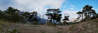 Ausblick vom 'Col de Bavella' - Korsika