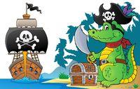 Pirate crocodile theme 6