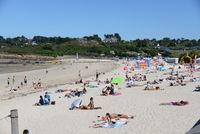 Strand von Carantec, Bretagne