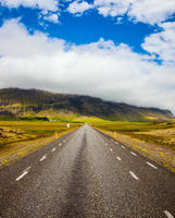 The Iceland highway