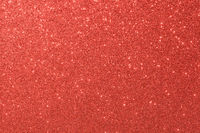 red glitter macro background