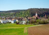 Dollnstein village in Bavaria