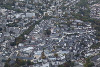 Aerial Photo of the city of Siegen