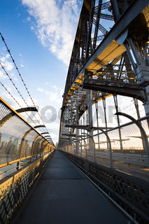 Sydney Harbour Bridge Pedestrian Walk