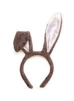 Easter gray rabbit fancy dress ears