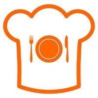 Besteck und Kochhaube - Cutlery and chef hat