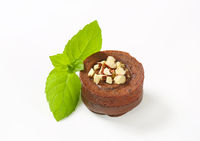 Mini chocolate hazelnut cake