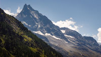 Mountain Besso in Val d'Anniviers, Switzerland