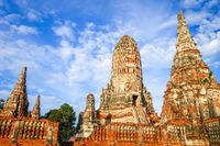 Wat Chaiwatthanaram temple, Ayutthaya, Thailand