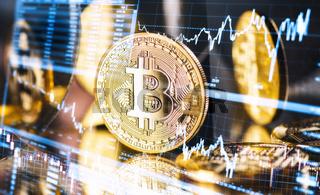 Schwankender Kurs des Bitcoin