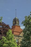 Tower, high school Hegau-Gymnasium, Singen/Hohentwiel