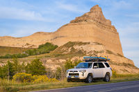 Toyota 4runner at Scotts Bluff National Monument