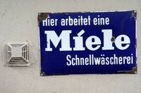 Vintage sign Miele