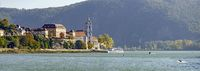 Danube valley at the little town of Duernstein
