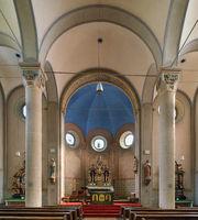 Parish church Saint Salvator, Ernst, Germany