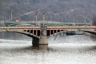 Moldaubrücke in Prag